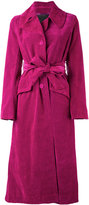 Marc Jacobs velvet coat - women - Cotton/Polyester/Viscose - 6