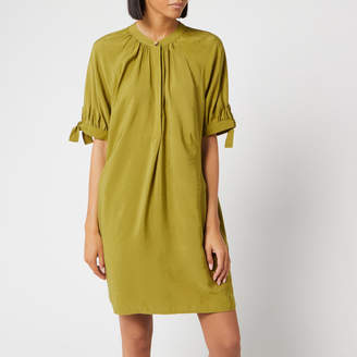 Whistles Women's Celestine Dress - Olive - XS - Green