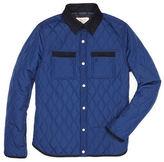 Original Penguin Quilted Nylon Shirt Jacket