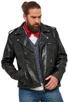 Joe Browns - Black 'Almost Vintage' Leather Jacket