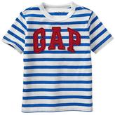 Gap Arch logo stripe tee