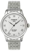 Tissot T41148333 Le Locle Date Bracelet Strap Watch, Silver