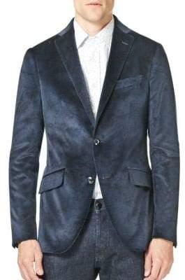 Etro Printed Velvet Sportcoat