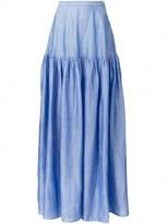 Co mid-waist long full skirt