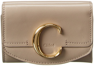 Chloé Mini Leather Trifold Wallet