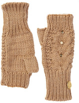 Vince Camuto Studded Arm Warmer Fingerless Gloves
