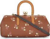 Coach Floral print kisslock satchel