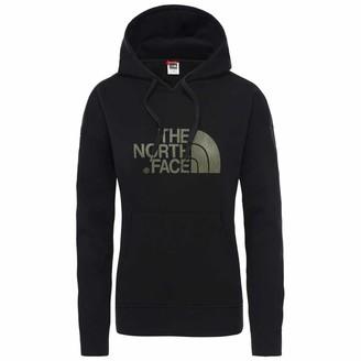 The North Face Women's Light Drew Peak Hoodie - TNF Black/Burnt Olive Green Rain Camo Print X-Small