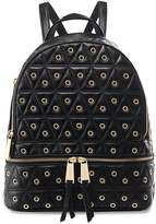 MICHAEL Michael Kors Grommet Leather Rhea Quilted Backpack