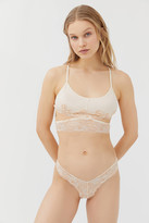 Out From Under Galloon Lace Cutout Bra