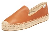 Sole Society Platform Smoking Slipper Leather Leather Espadrille