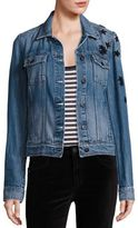 Paige Rowan Jupiter Star Embellished Denim Jacket