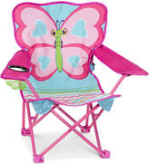 Melissa & Doug Girls' Cutie Pie Butterfly Camp Chair