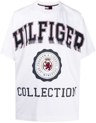 Tommy Hilfiger logo print short-sleeved T-shirt