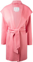 Max Mara belted hood coat - women - Cashmere/Wool - 38