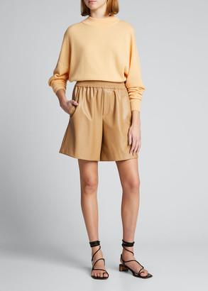 A.L.C. Chiara Funnel-Neck Cutout-Back Sweater