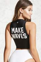 Forever 21 Active Make Waves Top
