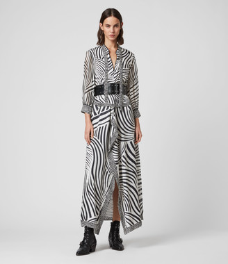 AllSaints Milia Seebra Dress
