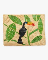 Mercedes Salazar Home Set-Of-Two Handmade Tucan Raffia Placemats