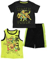"Teenage Mutant Ninja Turtles TMNT Little Boys' Toddler ""Power Pose"" 3-Piece Set"