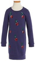 Little Marc Jacobs Toddler Girl's 'Milano' Sequin Sweatshirt Dress