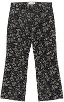 Etoile Isabel Marant Floral Print Cropped Pants