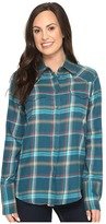 Stetson Brushed Twill Ombre Plaid Shirt Women's Clothing