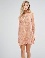 Majorelle Roundup Smock Dress