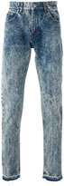 MSGM bleached straight jeans - men - Cotton/Polyester - 44