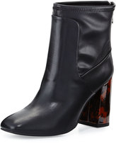 Charles David Trudy Faux-Leather Bootie, Black