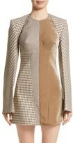 Stella McCartney Women's Check Wool Blend Shrug