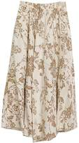 Astage Women`s Bohemia Skirt Floral-Print Maxi Skirt Peony Print