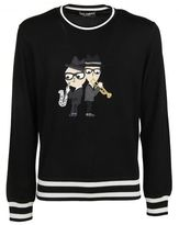 Dolce & Gabbana Designer's Patch Sweater