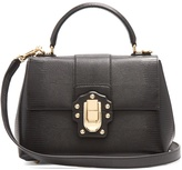 Dolce & Gabbana Lucia small iguana-effect leather bag