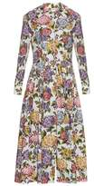 Emilia Wickstead Dolly hydrangea-print midi dress