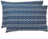 Cape Cod Extra Pillowcases, Set of 2, Royal Navy