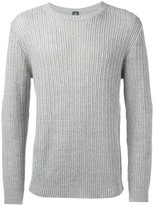 Eleventy ribbed knit jumper - men - Cotton/Linen/Flax - M