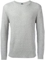 Eleventy ribbed knit jumper
