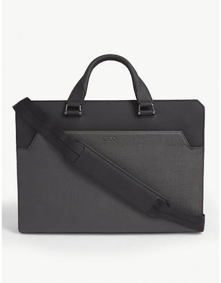Tumi Barnet double zip briefcase