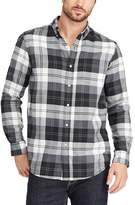 Chaps Big & Tall Classic-Fit Plaid Button-Down Shirt