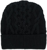 Maison Margiela cable knit beanie - men - Wool - M