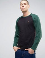 Farah Holmwood Raglan Long Sleeve T-shirt