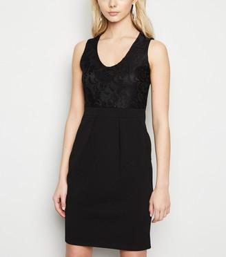 New Look Mela Lace Top Mini Bodycon Dress