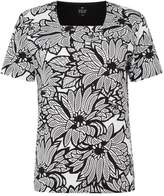 Tigi Short Sleeve Floral Top