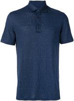 Ermenegildo Zegna short sleeve polo shirt - men - Linen/Flax - 48