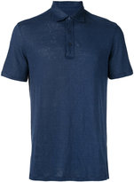 Ermenegildo Zegna short sleeve polo shirt - men - Linen/Flax - 52