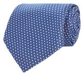 Corneliani Hexagon Circle Silk Tie