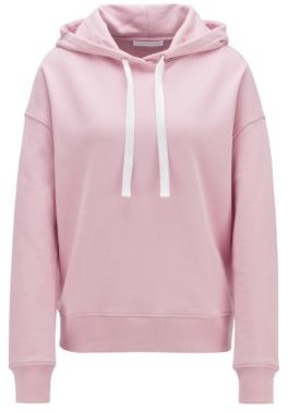 HUGO BOSS Relaxed-fit hoodie with logo print