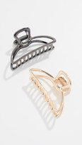 Thumbnail for your product : Kitsch Open Claw Clip Set