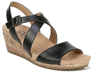 LifeStride Maple Wedge Sandal